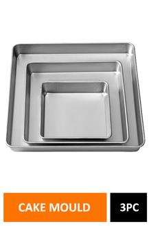 Cake Mould Square Set Of 3