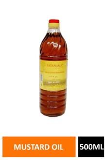 Patanjali Mustard Oil Pet 500ml