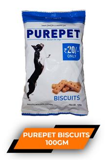 Purepet Biscuits 100gm