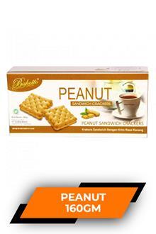 Biskotto Peanut Sandwich Crackers 160gm