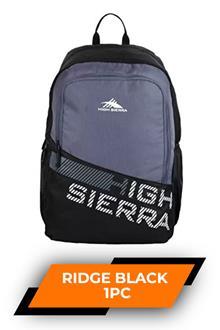 Hs Ridge Backpack Black
