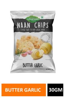 Naan Chips Butter Garlic 30gm