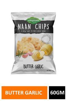 Naan Chips Butter Garlic 60gm