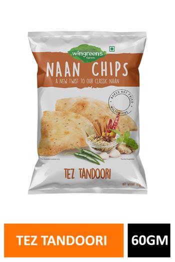 Naan Chips Tez Tandoori 60gm