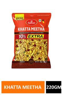 Haldiram Khatta Meetha 220gm