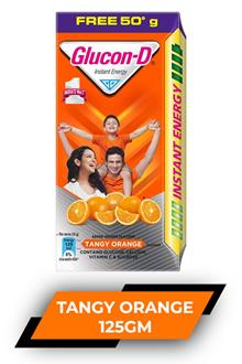 Glucon D Tangy Orange 125gm