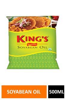 Kings Soyabean Oil 500ml Pouch