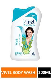 Vivel Bodywash Mint 200ml