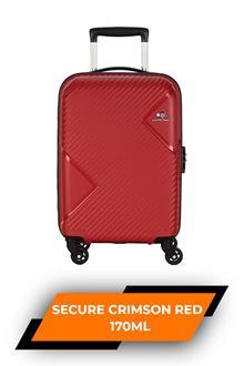 Kam Zakk Secure Crimson Red Trolley Bag 55cm