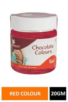 Blossom Chocolate Colour Red 20gm