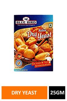 Blue Bird Dry Yeast 25gm