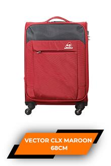 Kam Vector Clx Jv Maroon Trolley Bag 68cm