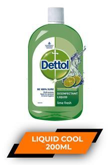 Dettol Disinfectant Liquid Cool 200ml