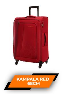 Kam Kampala Red Trolley Bag 68cm