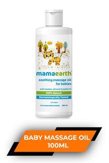 Mamaearth Baby Massage Oil 100ml