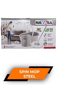 Nayasa Steel Spin Mop Set Np4212