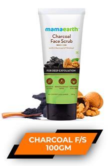 Mamaearth Charcoal Face Scrub 100gm