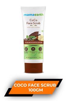 Mamaearth Coco Face Scrub 100gm