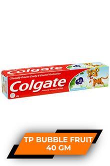 Colgate Kids Tp Bubble Fruit 40gm
