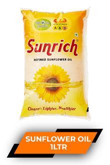 Sunrich Sunflower Oil 1ltr
