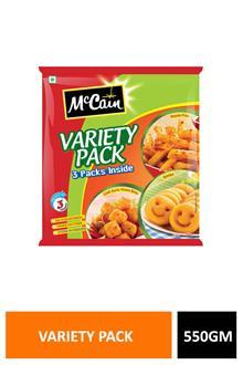 Mccain Variety Pack 550gm