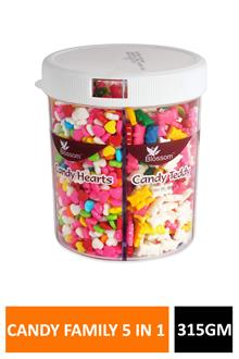 Blossom Candy Family 5 In 1 315gm