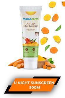 Mamaearth Ultra Light Ind Sunscreen 80gm
