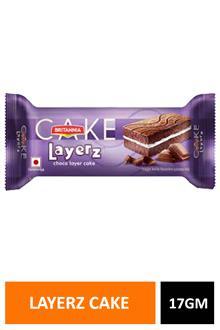 Britania Layerz Cake 17gm