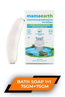 Mamaearth Baby Moisturizing Bath Soap 75gm+75gm