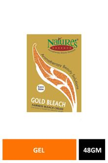 Natures Aloevera Gel Gold Bleach 48gm