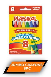 Playskool 8 Jumbo Crayons 11036