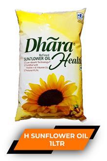 Dhara H Sunflower Oil 1ltr
