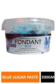 Blossom Fondant Blue Sugar Paste 200gm