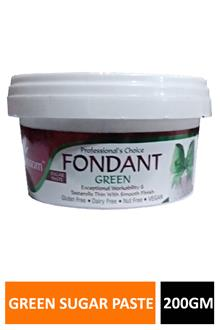Blossom Fondant Green Sugar Paste 200gm