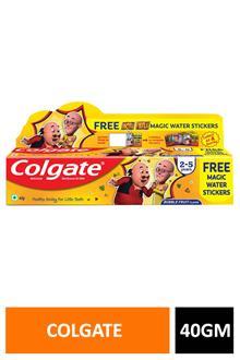 Colgate Kids Bubble Fruit 40gm