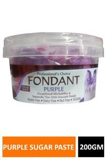 Blossom Fondant Purple Sugar Paste 200gm