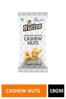 Nuttoz Salted Cashew 18gm
