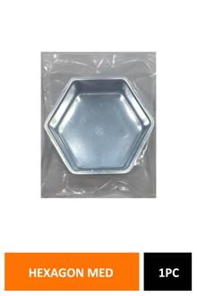 Cake Mould Hexagon Med