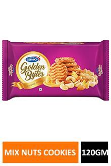 Cremica Golden Bites Mixd Nuts Cookies 120gm
