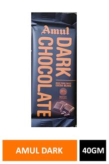 Amul Dark Chocolate 40gm