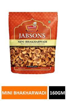 Jabsons Mini Bhakharwadi 160gm