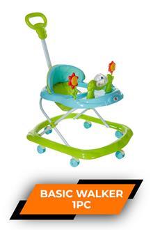 Morison Baby Basic Walker Green