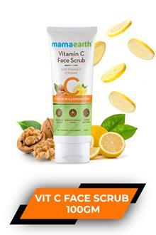 Mamaearth Vitamin C Face Scrub 100gm