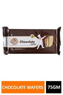 Gd Wafers Chocolate 75gm Buy1get1