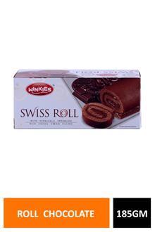 Winkies Swiss Roll Chocolate 185gm