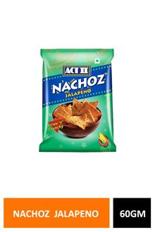 Act Ii Nachoz Jalapeno 60gm