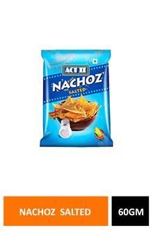 Act Ii Nachoz Salted 60gm