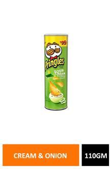 Pringles Cream N Onion 110gm