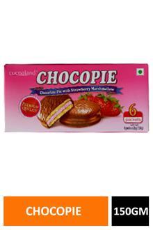 Cocoaland Chocopie Strawberry 150gm