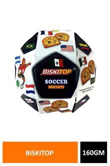 Biskitop Soccer Biscuits 160gm